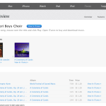 iTunes - Music - Boni Pueri Boys Choir