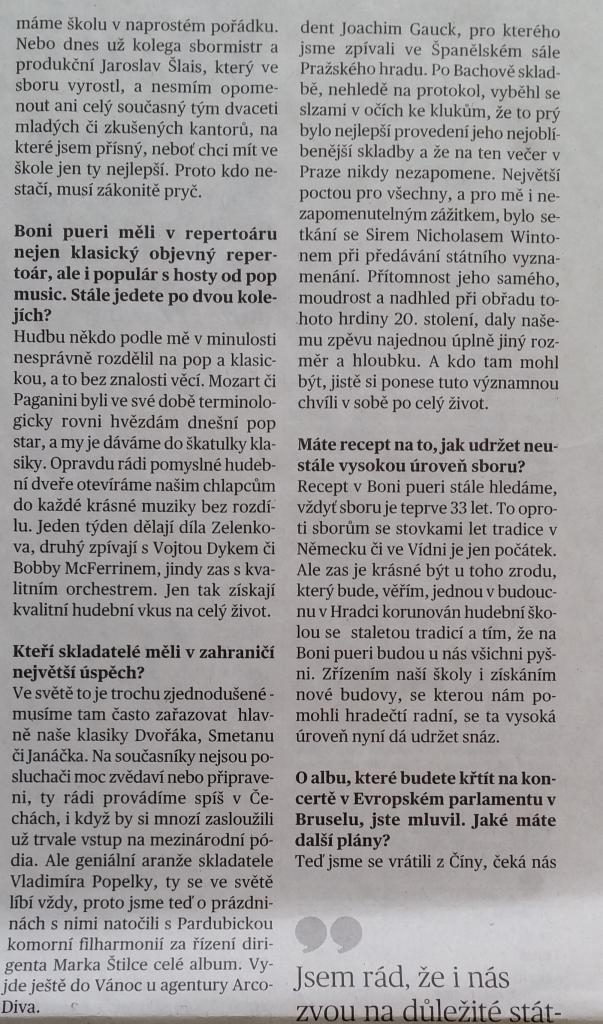 článek MFd Pavel půlka