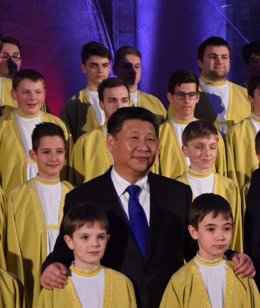 vladislavský sál - návštěva čínského prezidenta 2 malý