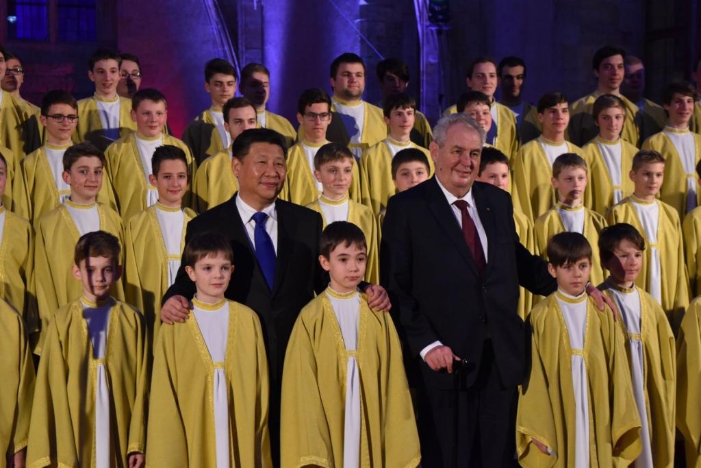 vladislavský sál - návštěva čínského prezidenta 5 malý