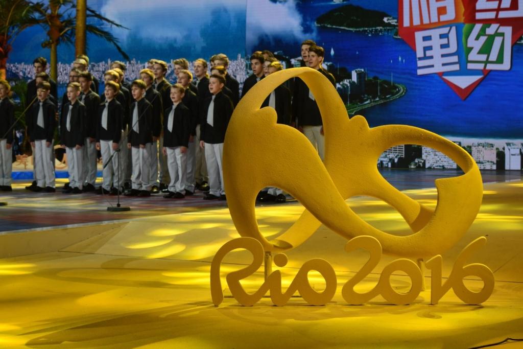foto pro tisk - CCTV Peking - natáčení pro olympijské studio 2 malý