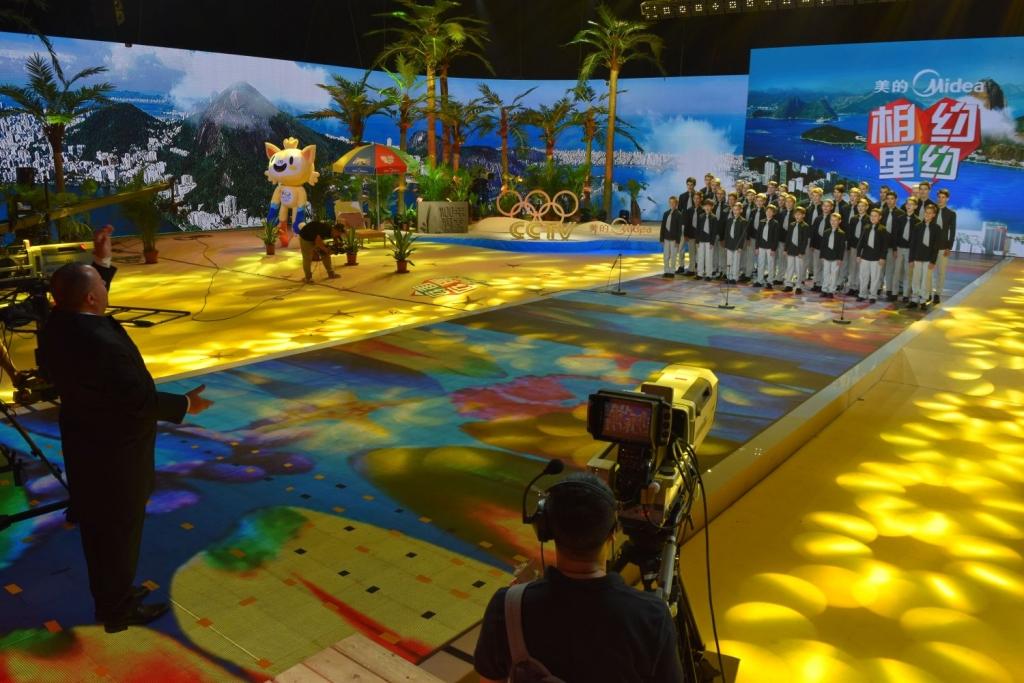 foto pro tisk - CCTV Peking - natáčení pro olympijské studio 3 malý