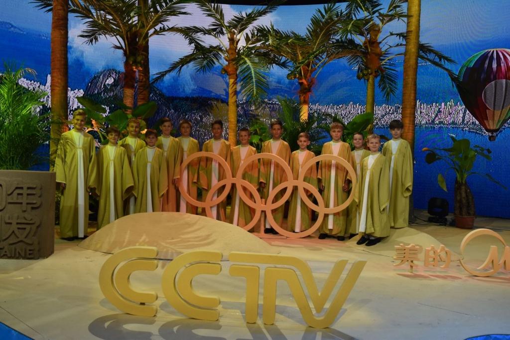 foto pro tisk - CCTV Peking - natáčení pro olympijské studio malý