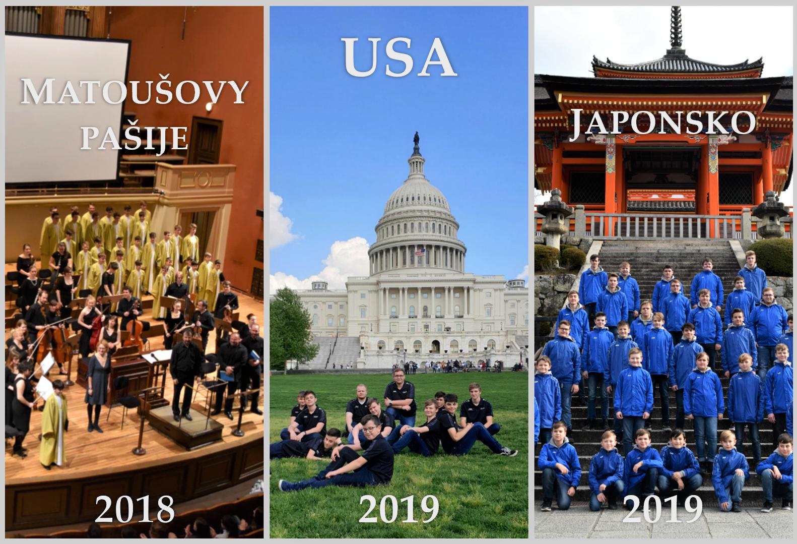 Tři turné 2019